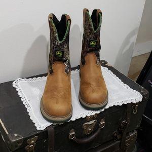 John Deere Steel Toe Boots By DanPost Boot Co.
